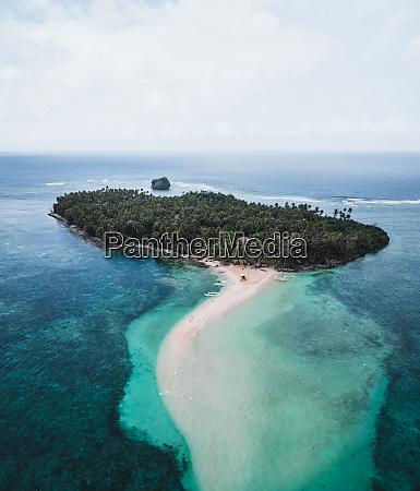aerial view of kawhagan island del
