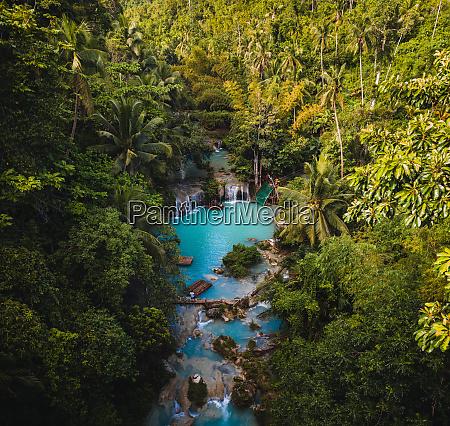 aerial view of tigbawan lazi siquijor