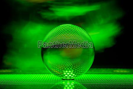 glass ball photograph
