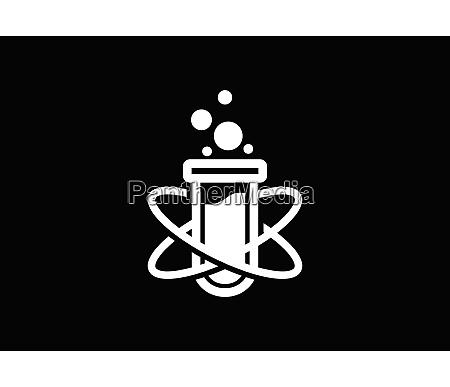 lab logo template vector design lab