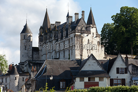 chateau de loches in loire valley