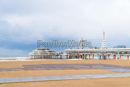 scheveningen pier in the netherlands