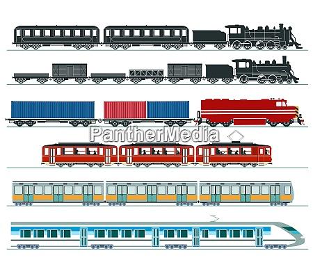 passenger trains subway train high speed