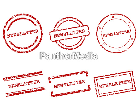 newsletter stamps