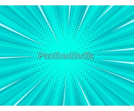 turquoise pop art background