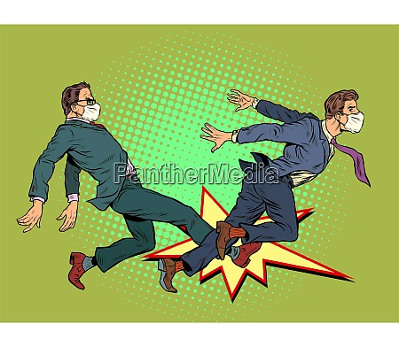 men fight competition coronavirus pandemic