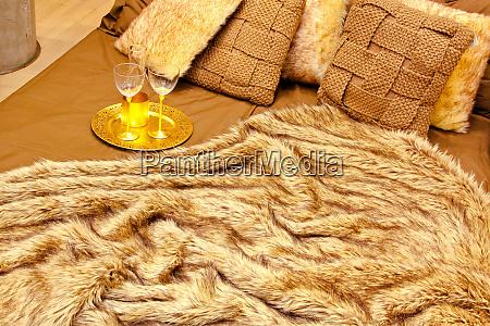 fur bedding