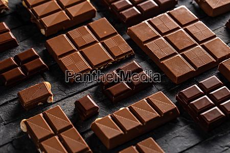 sweet tasty milk chocolate
