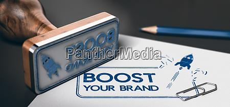marketing services brand boosting