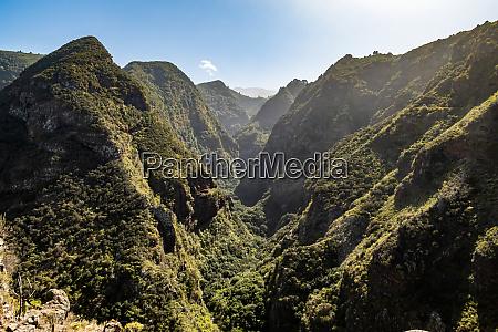 valley on la palma canary islands