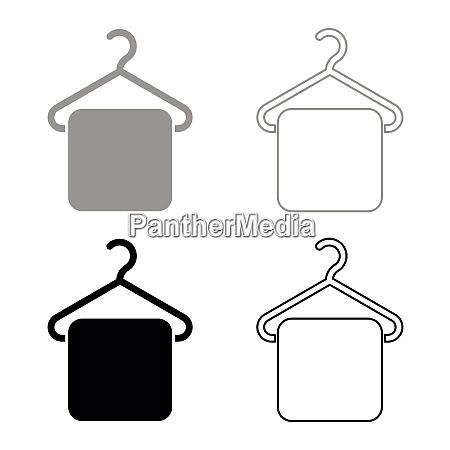 towel on hanger hanger towel clothes