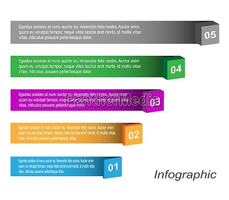 info graphic design template idea to