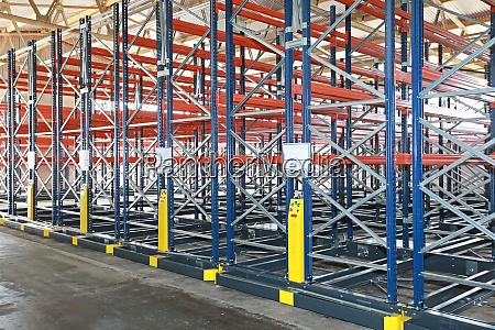 roller racking shelves