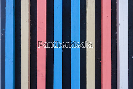 vertical colored planks background multicolor wood