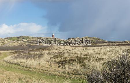 lighthouse on the island of sylt