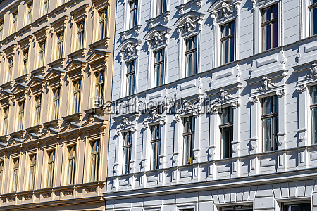 facade of some renovated old partment