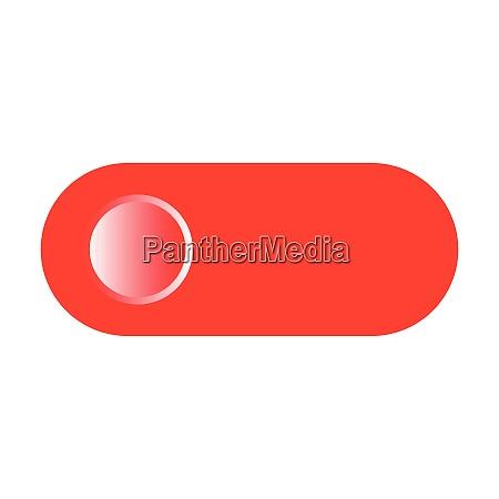 toggle switch icon flat