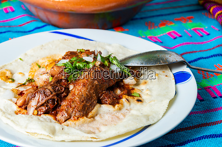 traditional beef birria stew mexican breakfast