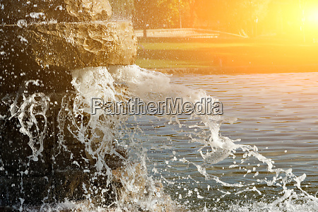 pond spout