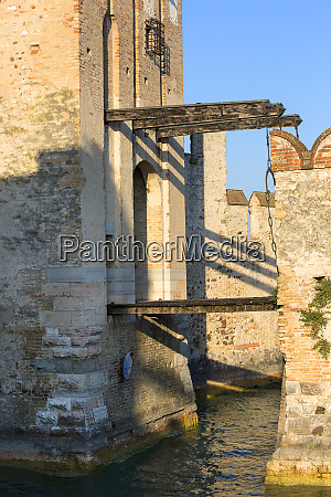 13th century medieval stone scaliger castle