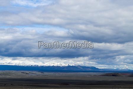 desolate landscape from kverfjoll area iceland