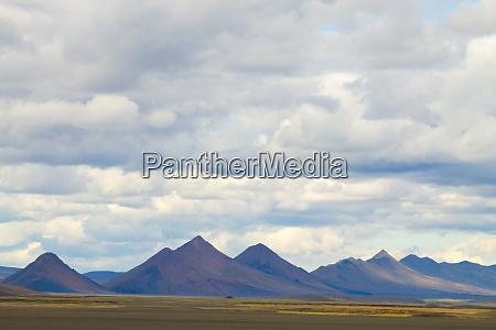 desolate landscape along central highlands of