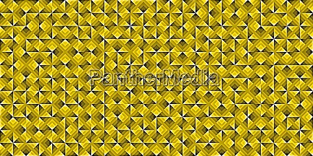 yellow modern random filling geometric shapes