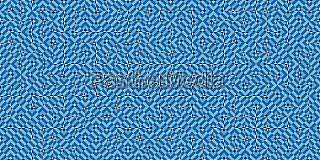 blue modern random filling geometric shapes