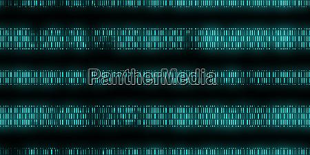 blue dna data code background seamless