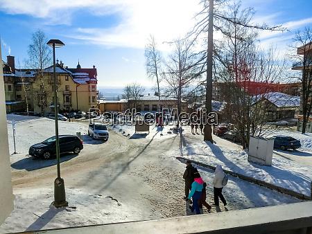 stary smokovec slovakia january 01