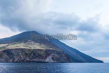 volcano stromboli archipelago eolie sicily italy