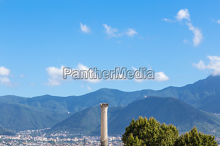 pompeii in italy ruins of the