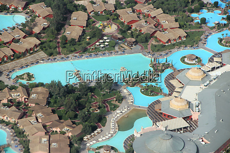 view of egyptian resorts with swimming