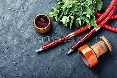 tobacco shisha with mint