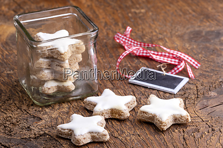 home made cinnamon stars for christmas