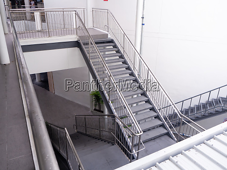 emergency exit interior staircase