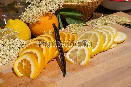 selected best ingredients for the elderflower