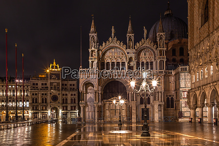 st marks basilica in venice at