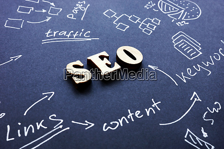 seo search engine optimization sign on