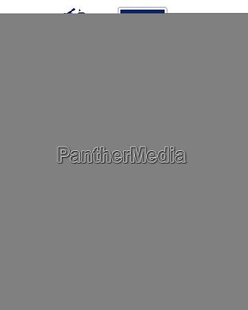 franzoesisch guyana mit suedamerikakarte und strassenschild