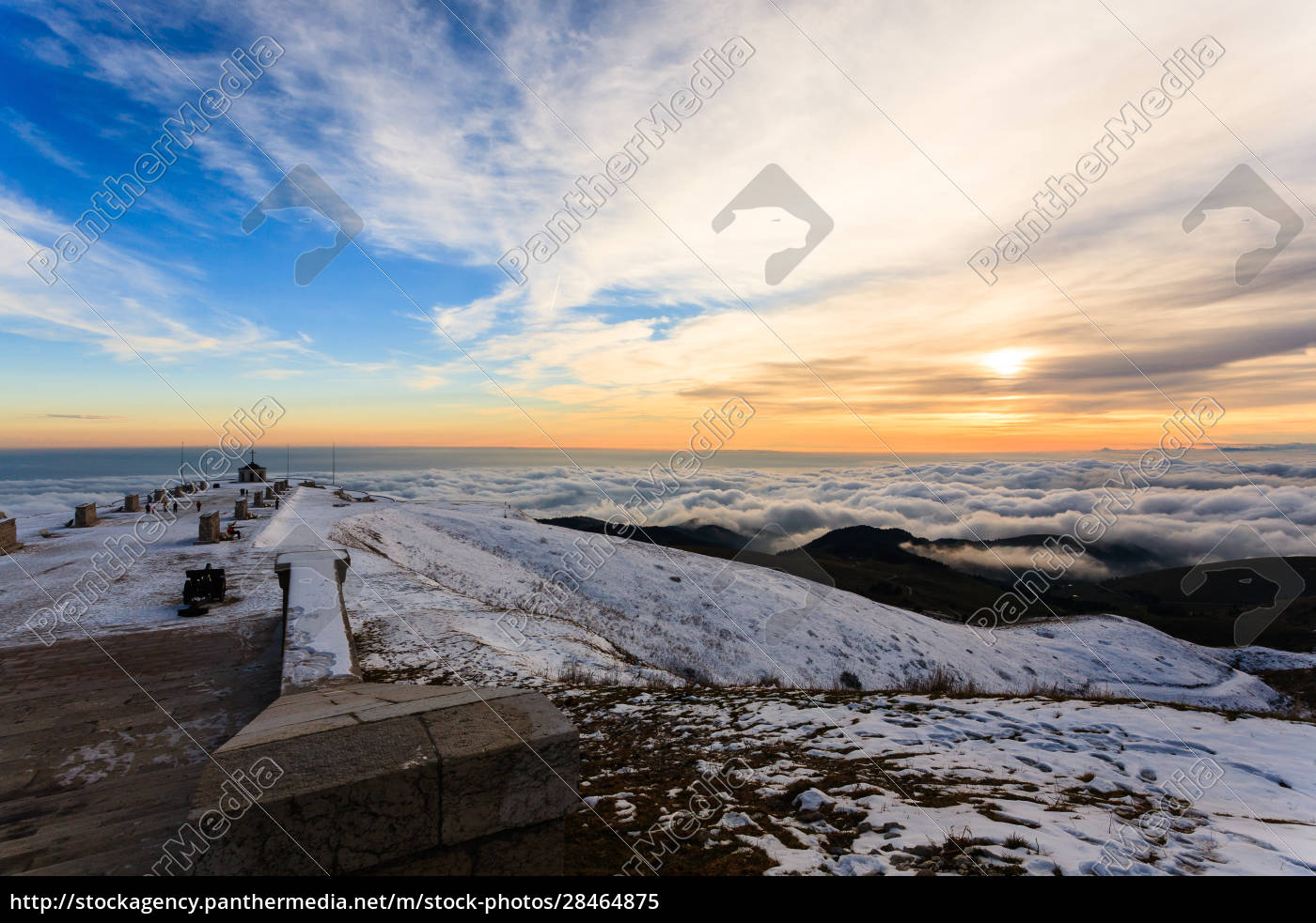 sunset, at, the, war, memorial, , grappa - 28464875