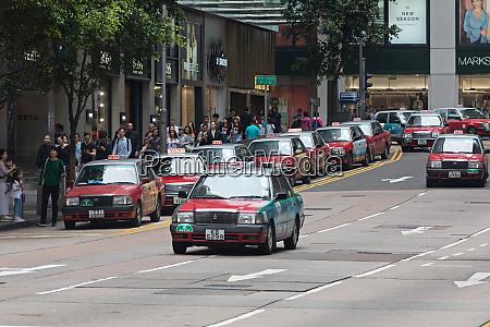 red taxi hong kong