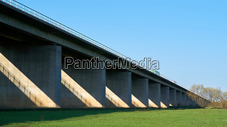bridge on the a2 motorway between