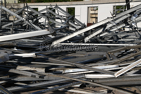 demolition metal steel demolition recycling separating