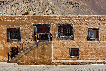tabo monastery spiti valley himachal pradesh