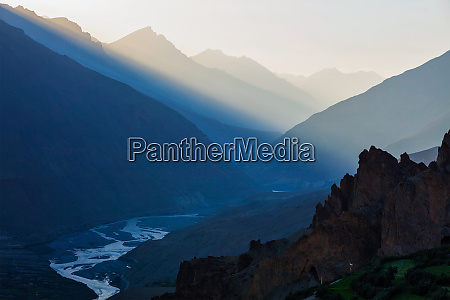 spiti valley himachal pradesh india