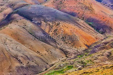 colors of himalayas