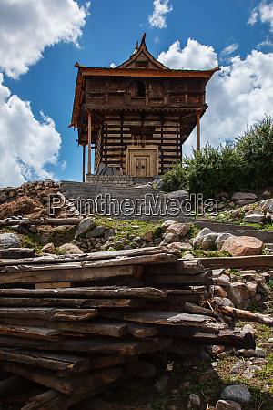 sangla fort in sangla himachal pradesh