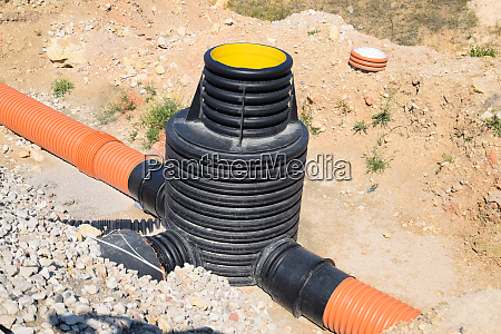 construction of stormwater and sewerage at