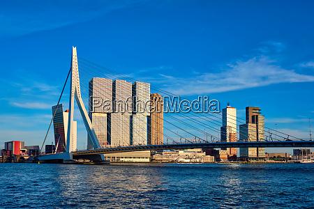 rotterdam cityscape netherlands